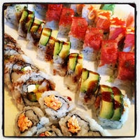 Photo taken at Sushi On The Rocks by RUSS on 1/21/2013