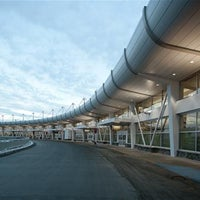 Photo taken at Ted Stevens Anchorage International Airport (ANC) by PCL Construction on 1/8/2013