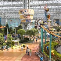 Photo taken at Nickelodeon Universe® by PCL Construction on 3/12/2013