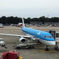 Photo taken at KLM Royal Dutch Airlines Flight KL 1826 by David H. on 8/17/2013