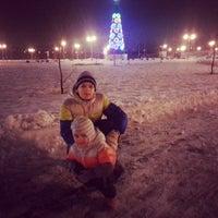 Снимок сделан в Спортивно-досуговый парк «Красная Пахра» пользователем Vlada P. 1/6/2014