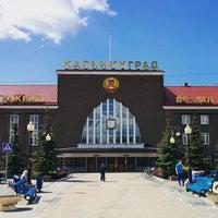 Photo taken at Остановка «Проспект Калинина — Южный вокзал» by Evgeny S. on 5/22/2015