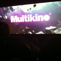 Photo taken at Multikino by Edgaras on 2/9/2013
