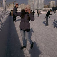 Photo taken at Аркадия Каток by Jane T. on 2/24/2013