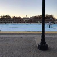 Photo taken at Highbridge Park Pool by Jason B. on 11/6/2016