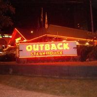 Photo taken at Outback Steakhouse by Rodrigo G. on 1/27/2013