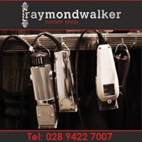 Photo taken at Raymond Walker Barber Shop by Andrew M. on 9/27/2014