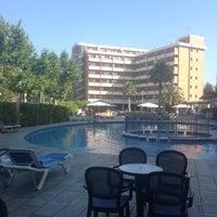 Photo taken at Hotel California Garden by Anca M. on 7/7/2013