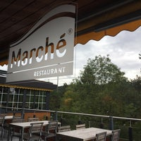 Photo taken at Restaurant Marché Kemptthal by Raymond K. on 9/19/2017