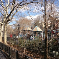 Photo taken at Hester Street Playground by Angela on 12/25/2012