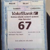 Photo taken at VakıfBank by Ali C. on 4/1/2015