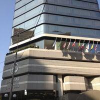 Photo taken at Hotel Estelar Miraflores by Marcos F. on 1/9/2013