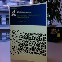 Photo taken at ZHAW Institut für Marketing Management by Armin on 11/29/2012