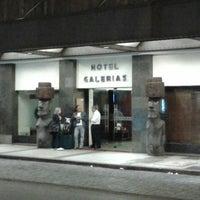 Foto tomada en Hotel Galerias por Pato V. el 2/3/2013