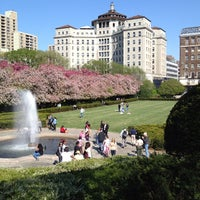 Photo taken at Conservatory Garden by Samuel R. on 4/27/2013