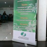 Photo taken at Kantor Jamsostek Padang by Hendrå S. on 10/16/2012