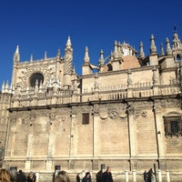 2/8/2013에 Pilar Á.님이 383. Cathedral, Alcázar and Archivo de Indias in Seville (1987)에서 찍은 사진
