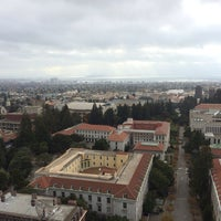 Photo taken at Campanile (Sather Tower) by Martin K. on 10/27/2013
