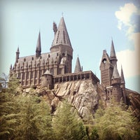 Photo taken at The Wizarding World Of Harry Potter - Hogsmeade by Anne S. on 5/18/2013