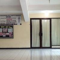 Photo taken at GPIBI - Amanat Agung Church by bhinneka studio musik by Nyoman P. on 2/12/2014