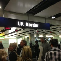 Photo taken at Security/Passport Control - T3 by Philippe P. on 1/22/2013