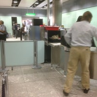 Photo taken at Security/Passport Control - T3 by Philippe P. on 4/30/2013