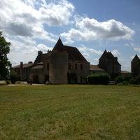 Photo taken at Château de Castegens by Philippe P. on 7/28/2013