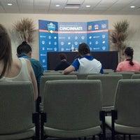 Photo prise au Western & Southern Tennis Media Center par Pat L. le8/10/2013