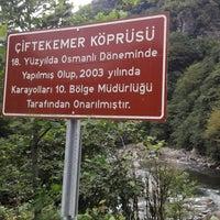 Photo taken at Çiftekemer Köprüsü by Adanaaskim -. on 8/24/2018