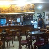 Photo taken at Café - Bar Carabela by Vero on 1/1/2014
