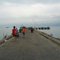 Photo taken at Hua Hin Fishing Pier by arthur S. on 11/17/2012