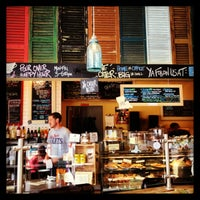 Photo taken at Bayou Bakery, Coffee Bar & Eatery by Cécile R. on 9/15/2013