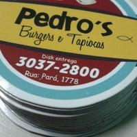 Photo taken at Pedro's Burgers e Tapiocas by Kamilla M. on 11/4/2014