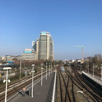 Photo taken at Metrostation Spaklerweg by Usman M. on 3/23/2017