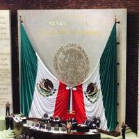 Photo taken at Palacio Legislativo De San Lázaro by Carlos H. on 3/19/2015