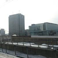 Photo taken at JR 盛岡駅 by Atsushi F. on 1/16/2013