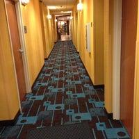 Photo taken at Fairfield Inn & Suites Fort Walton Beach-Eglin AFB by Wendy B. on 8/10/2013