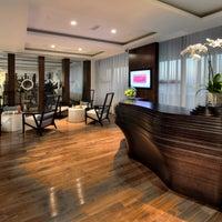 Photo taken at Soma Spa by Pullman Dubai Deira City Centre Hotel on 6/15/2014