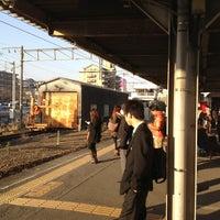 Photo taken at Takajo Station by fuya on 3/5/2013