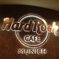 Photo taken at Hard Rock Cafe Munich by Maggie T. on 10/23/2012