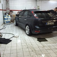 Photo taken at Sonax Car Cleaning Center by Çağrı T. on 4/24/2015