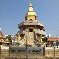 Photo taken at Wat Phothisomphon by i4UD1 on 1/1/2014