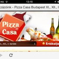 Photo taken at Pizza Casa by Zoltán D. on 6/30/2013