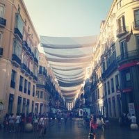 Photo taken at Marqués de Larios Street by Federico on 7/5/2013