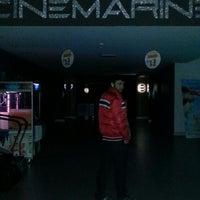Photo taken at Cinemarine by Ferhat B. on 3/20/2013