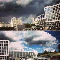 Снимок сделан в НСК «Олимпийский» пользователем Nastya M. 7/17/2013