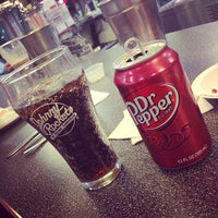Photo taken at Johnny Rockets by jean r. on 3/21/2013