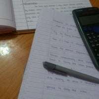 Photo taken at zully's study table by zullu ,. on 11/6/2013