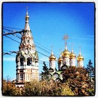 Photo taken at Храм Святителя Николая в Хамовниках by Roman M. on 9/27/2013