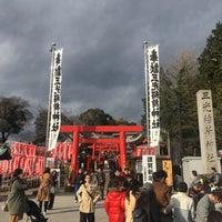Photo taken at 三光稲荷神社 by p _. on 1/2/2018